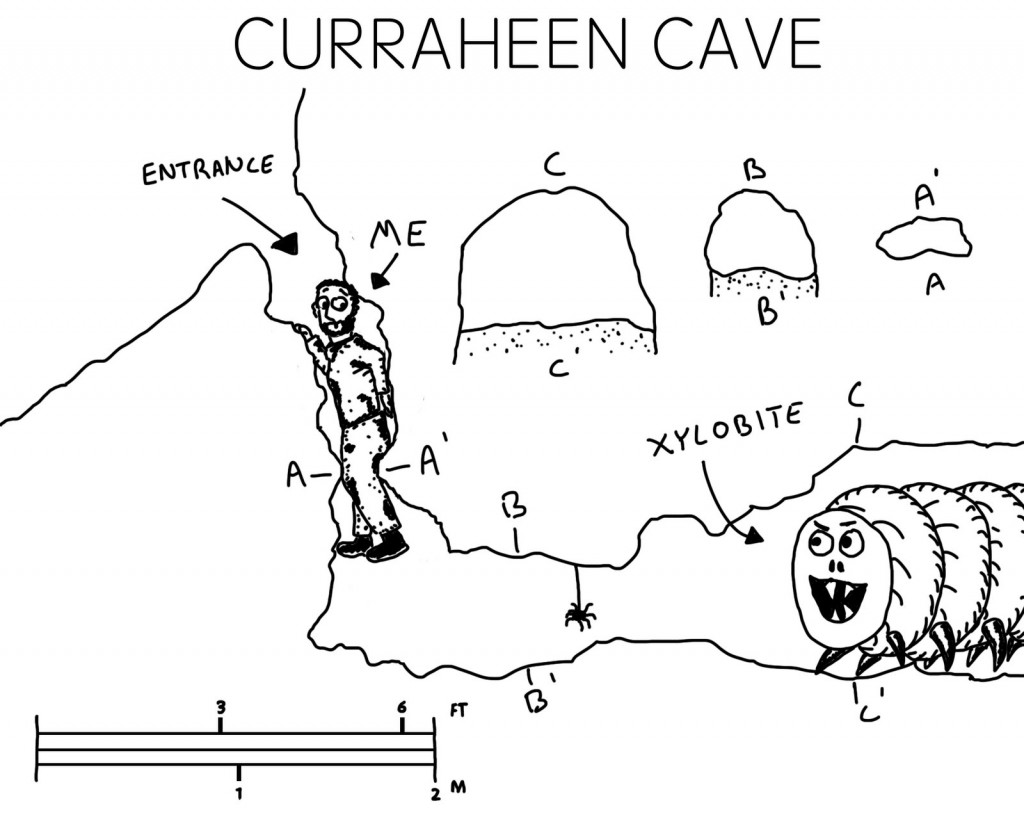 A graphical and somewhat accurate depiction of Cave #1